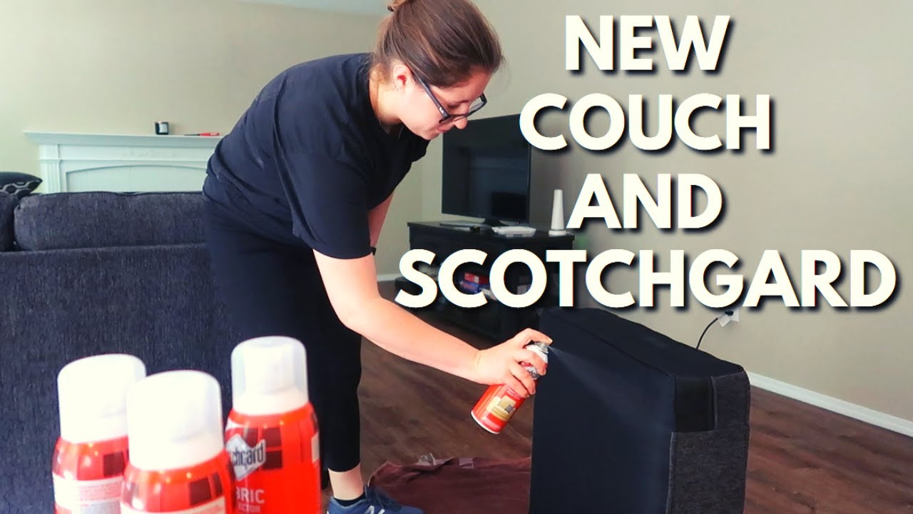 How To Scotchgard A New Couch You