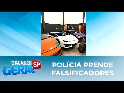 Polícia prende falsificadores de carros de luxo em Itajaí SC