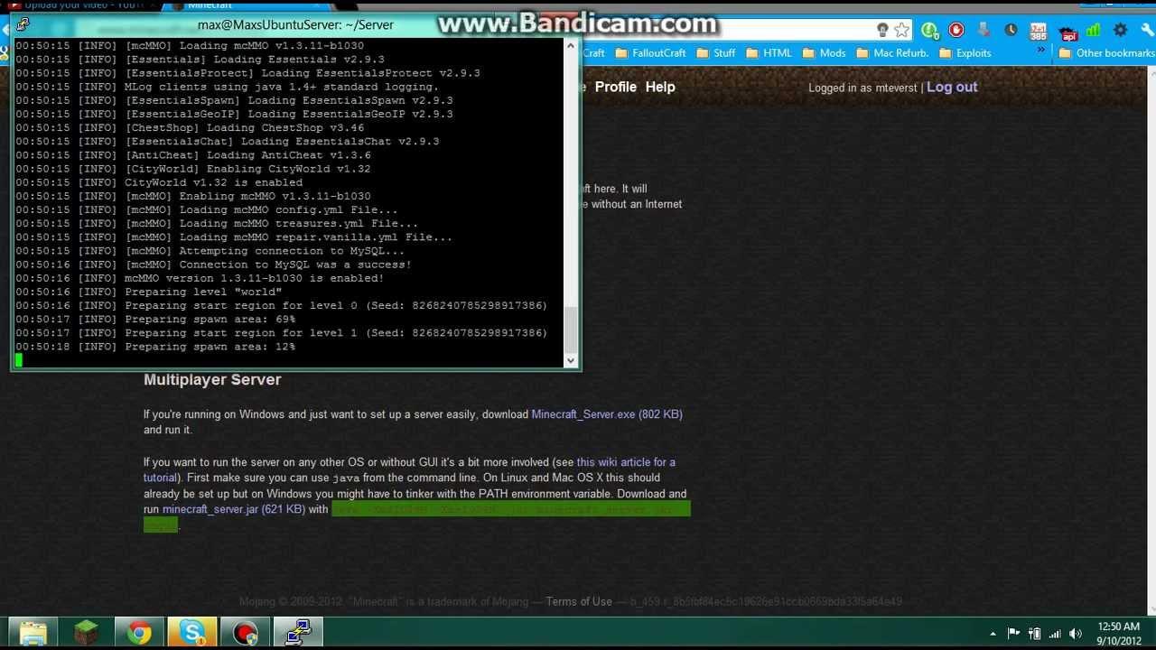 How to run a Minecraft Server on Ubuntu Server [Part 1]