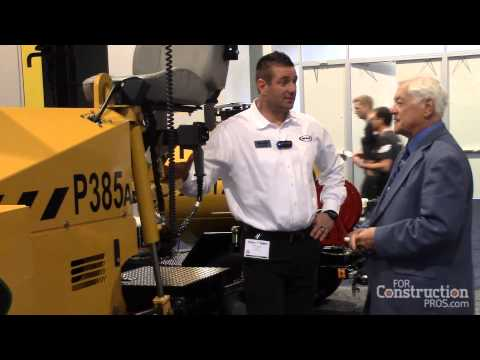Weiler Upgrades 385 Paver with Smaller Auger for Better Ground Clearance