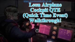 [LINK] Leon Airplane Cockpit QTE (Quick Time Event) Walkthrough Resident Evil 6 RE6 Walkthrough Tips