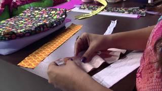 Lia Pavan – Bolsa lateral patchwork Parte 2/2