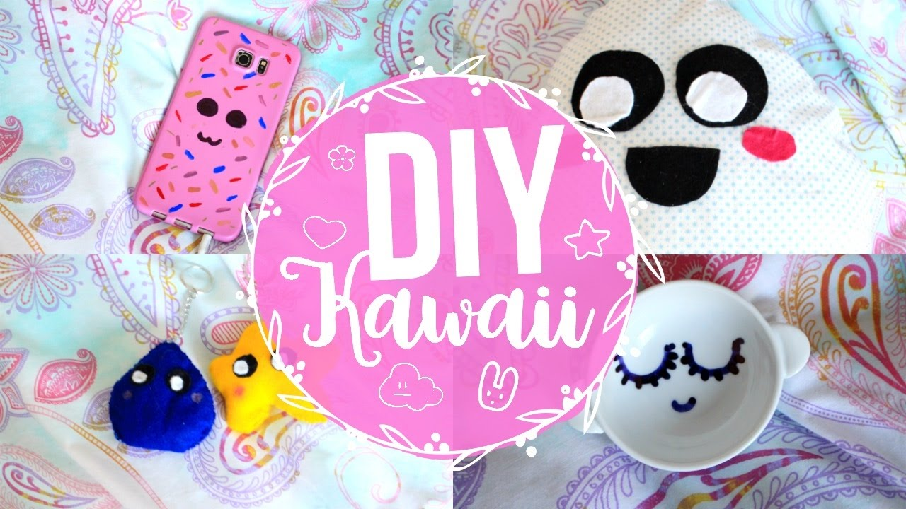 DIY Déco Chambre KAWAII 🌙 - YouTube