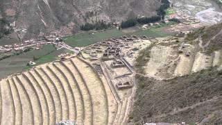 Site inca de Pisac près de Cusco, Pérou