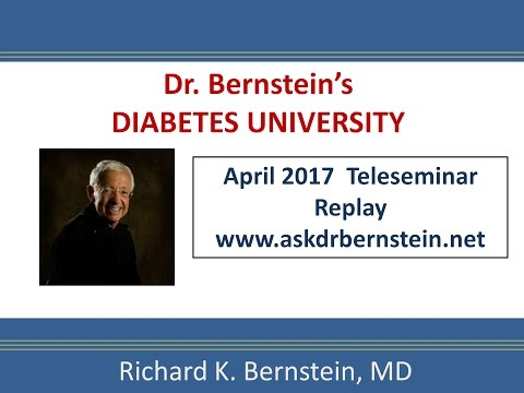 Teleseminar 19. April 2017. A Full Hour Of Answers To Your Diabetes Questions.
