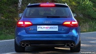 Audi S4 V6 TFSI with Capristo Exhaust in Action