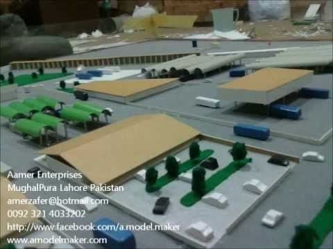 [Bus Stand] Architectural Scale Model Maker in Lahore Pakistan
