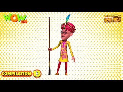 Motu Patlu - Non Stop 3 Episodes | 3D Animation For Kids - #13