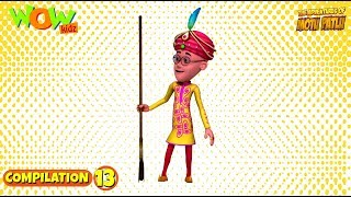 Motu Patlu - Non stop 3 episodes | 3D Animation for kids - #13