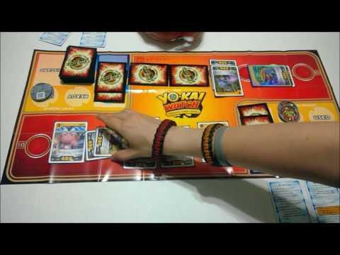 Yo-Kai Watch Trading Card Game FULL Gameplay!!!