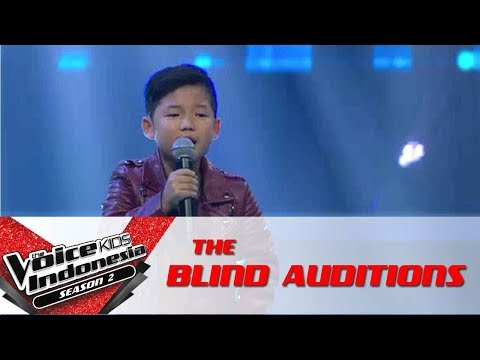 Gilbert 'Be-Bop-A-Lula' | The Blind Auditions | The Voice Kids Indonesia Season 2 GTV 2017