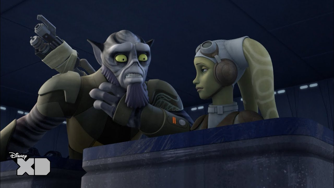 star wars rebels siege of lothal funny zeb moment