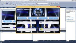Millionaire Project_Who wants to be a Millionaire Application Part 3 using Visual Studio 2010