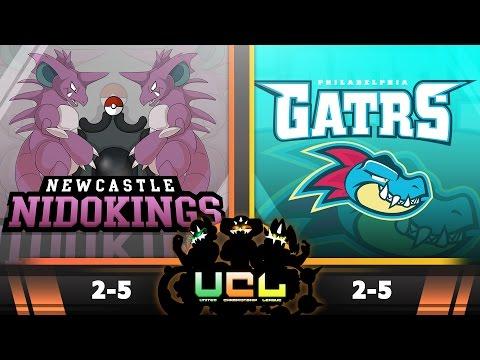 Pokémon ORAS LIVE WiFi Battle [UCL S2W8] Newcastle Nidokings VS Philadelphia Feraligatrs