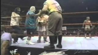 Golga w/Oddities & ICP vs Jeff Jarrett WWF