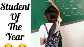 Student Of the Year awards goes to this Girl | Funny Video