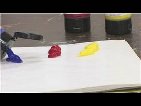 Art Supplies & Tips : How to Use Acrylic Paints