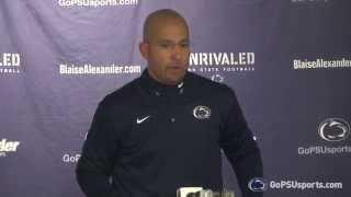 Penn State Football Postgame - James Franklin at Illinois