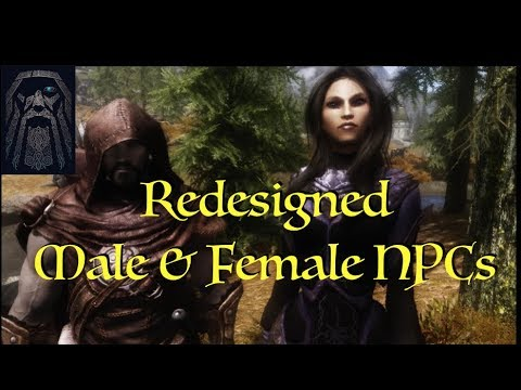 Skyrim: Redesigned Males and Females
