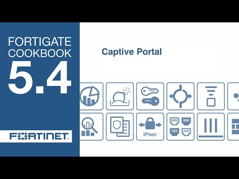 Customize Fortigate Captive Portal- Guest Login Page (5 4) -1 - YouTube