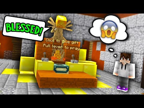 HOW TO GET BLESSED INSTEAD OF CURSED BY KALI! *SECRET* (Minecraft Murder Mystery)