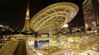 オアシス21は公園やバスターミナルなどの公共施設と商業施設との複合施...