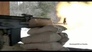 VEPR 7.62x54R Shooting Steel At 100 Yards