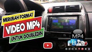 Cara Merubah Format  MP4 ke MPEG Agar Bisa Diputar Di Head Unit Mobil/Double Din