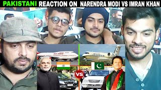 Pakistani Reacts On | Narendra Modi Vs Imran Khan Lifestyle ✮ Car Collection ,Helicopter Private Jet