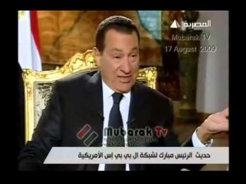 شاهد ماذا قال الرئيس مبارك عن دولة قطر