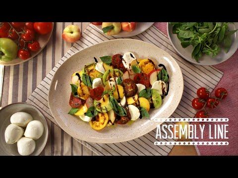 Summer Stone Fruit Salad | Assembly Line