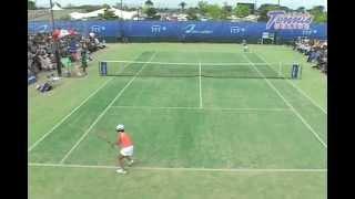久留米国際女子テニス2008 クルム伊達公子 VS 久松志保