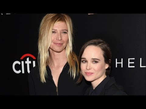 Ellen Page Gushes Over Girlfriend Samantha Thomas, Kisses Her on Red Carpet