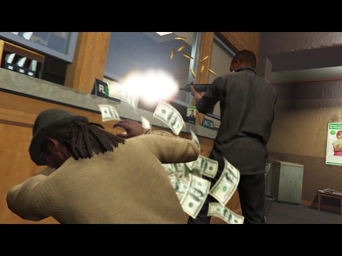 WE FINALLY ROBBED THE BANK! *BANNED!*   GTA 5 Role Play Life
