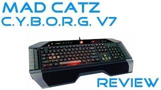 Mad Catz Cyborg V7 Gaming Tastatur Review Deutsch