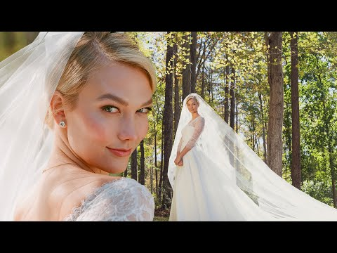 The Making of My Wedding Gown | Karlie Kloss