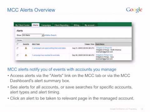 Multiple account management