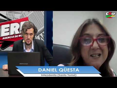 Daniela Qüesta: El Plan Abre significaba para Santo Tomé 70 millones en obras