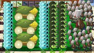 Plants vs Zombies - All Plants Pvz vs All Zombies