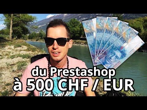 Du Prestashop à moins de 500 CHF / EUR possible ?