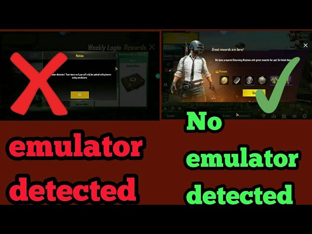 Anti-ban)PUBG Mobile 0 12 5 emulator detection Bypass in