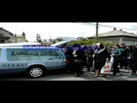 BotosaniNews Cortegiu funerar la inmormantarea Andei Danaila