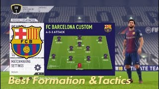 Currently undefeated barcelona formation! please like and subscribe comment what team i should do next