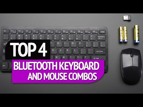 TOP 4: Bluetooth Keyboard and Mouse Combos 2018