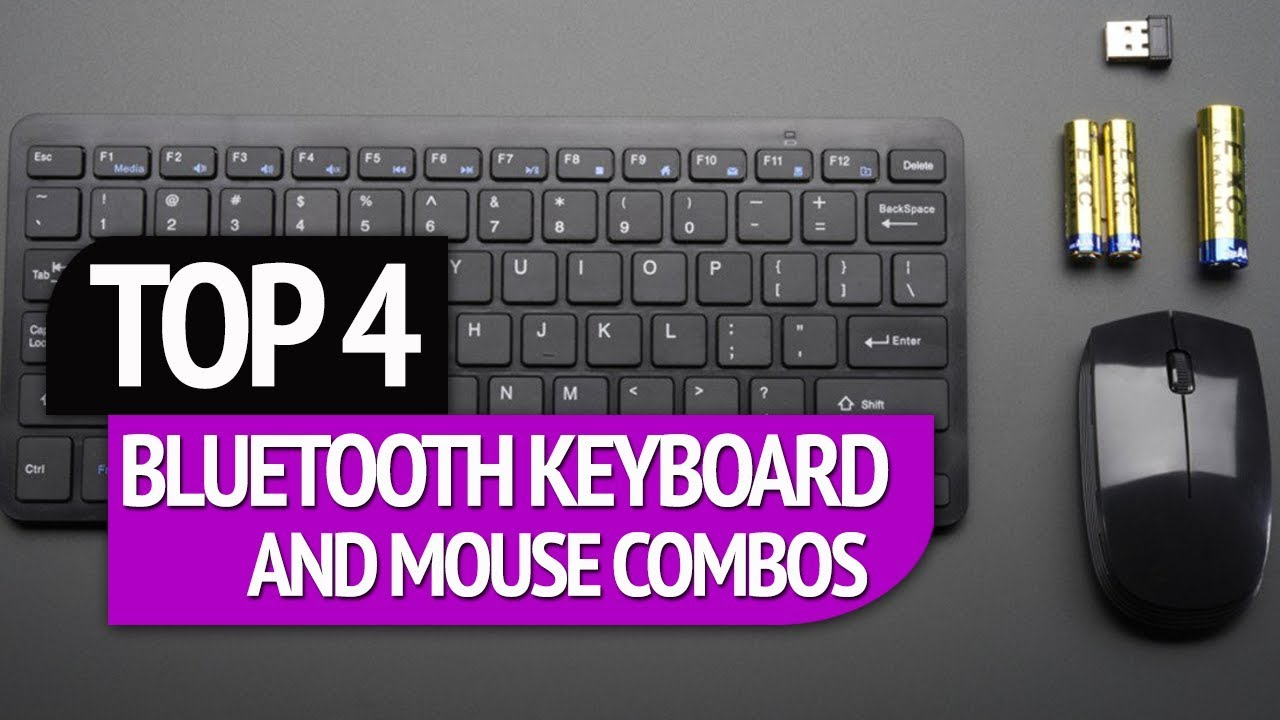 a6f67b95957 TOP 4: Bluetooth Keyboard and Mouse Combos - YouTube