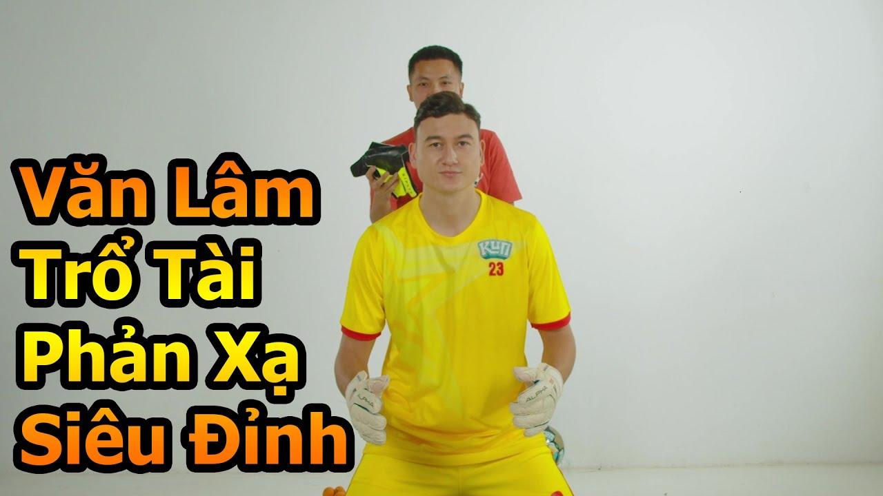 Đỗ Kim Phúc Thử Tài Thủ Môn Đặng Văn Lâm ĐT Việt Nam với màn phản xạ bóng đá siêu đỉnh
