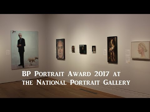 Exhibition Review : BP Portrait Award 2017 at the National Portrait Gallery