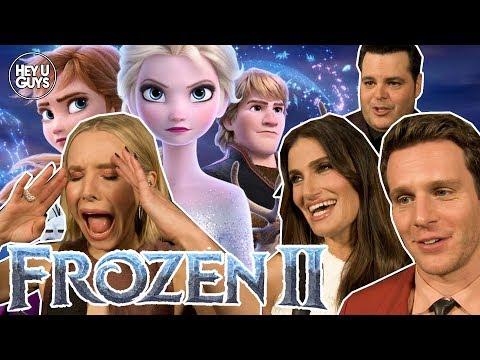 frozen-2-world-premiere-interviews---cast-old-&-new