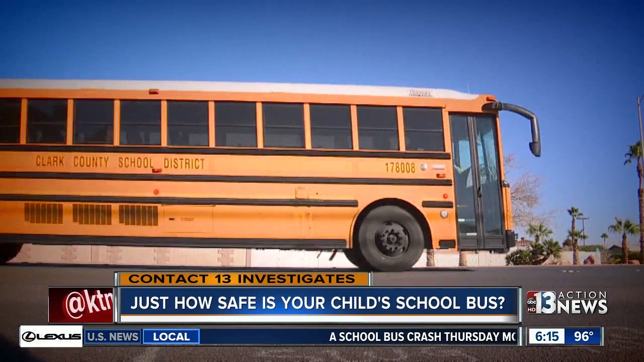 Just How Safe Is Your Childs School Bus Youtube