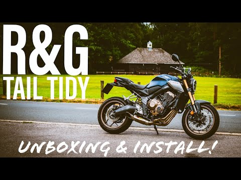 2019 Honda CB650R | R&G Tail Tidy | Unboxing & Installation!
